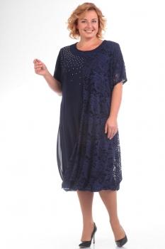 Платье Pretty 585 синий