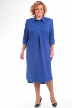 Платье Pretty 586-1 васильковый