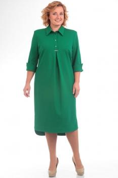 Платье Pretty 586-2 зеленый
