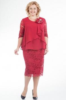 Платье Pretty 587-2 красный