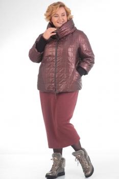 Куртка Pretty 631 бордовый