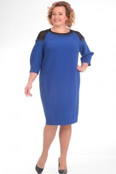 Платье Pretty 633-1 васильковый