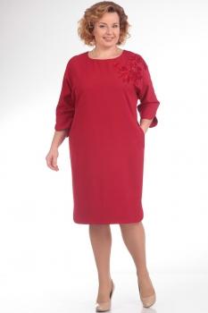 Платье Pretty 640-1 красный