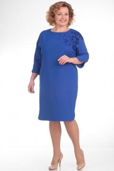 Платье Pretty 640 васильковый