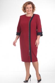 Платье Pretty 652-1 красный