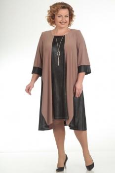Платье Pretty 663 коричневый