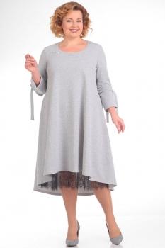 Платье Pretty 666 серый