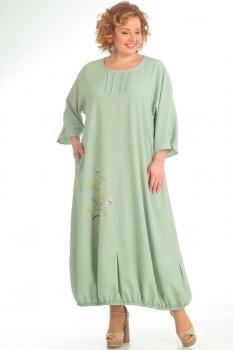 Платье Pretty 689 олива