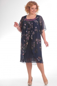 Платье Pretty 715 синий