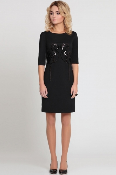 Платье Prio 147580 черный