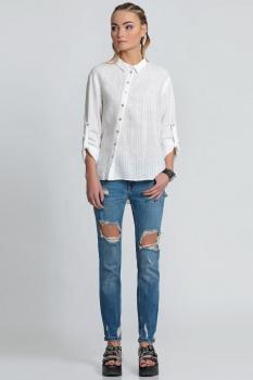 Блузка Prio 156140 белый