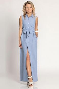 Платье Prio 162980 голубой