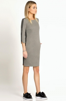 Платье Prio 168980 светло-серый
