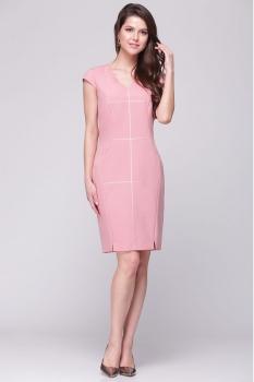 Платье Roma Moda 132М-1 розовые тона