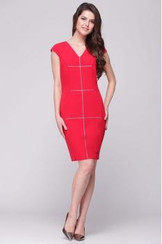 Платье Roma Moda 132М-2 красные тона