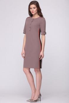 Платье Roma Moda 133М-3 оттенки беж