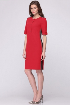 Платье Roma Moda 133М-4 оттенки красного