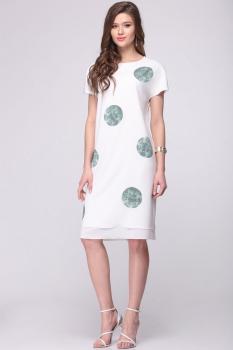 Платье Roma Moda 137М светлые тона