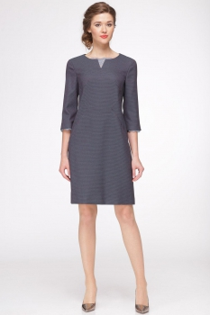 Платье Roma Moda 142М темные тона