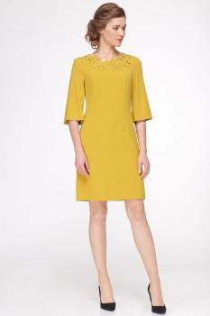 Платье Roma Moda 144М-2 горчица
