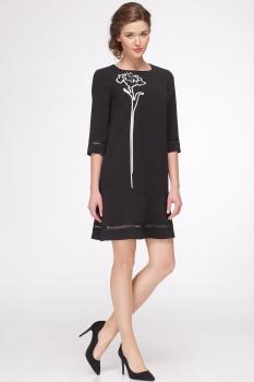 Платье Roma Moda 146М черный