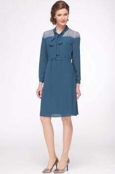 Платье Roma Moda 147М темно-бирюзовый