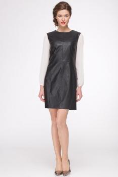 Платье Roma Moda 148М с черным