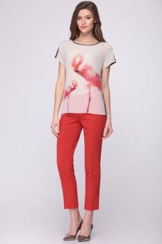Блузка Roma Moda 437М-1 фламинго