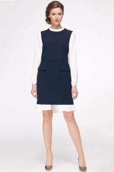 Платье Roma Moda 601М-3 синий