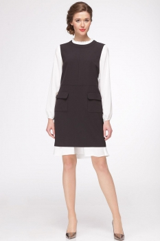 Платье Roma Moda 601М черный