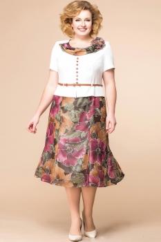 Платье Romanovich 1-1013-8 беж, коричневый