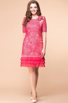 Платье Romanovich 1-1043 коралл