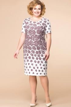 Платье Romanovich 1-1179 какао