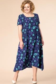 Платье Romanovich 1-1332-25 тёмно-синий