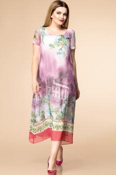 Платье Romanovich 1-1332-26 сирень