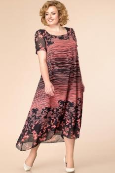 Платье Romanovich 1-1332-27 коралл