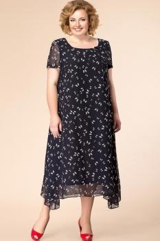 Платье Romanovich 1-1332-28 чёрный