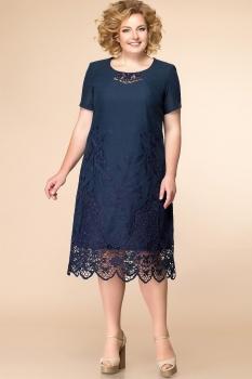 Платье Romanovich 1-1626-1 тёмно-синий