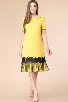 Платье Romanovich 1-1652 жёлтый