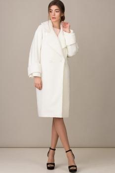 Пальто Rosheli 344 молочный