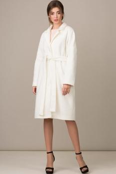 Пальто Rosheli 345-Б молочный