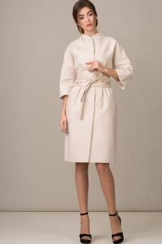Пальто Rosheli 350 пудра