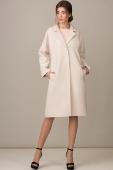 Пальто Rosheli 351-Б пудра