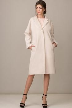 Пальто Rosheli 351 пудра