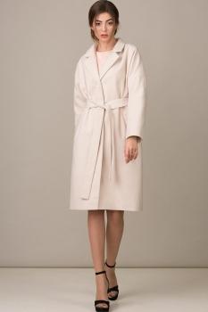 Пальто Rosheli 356 молочный