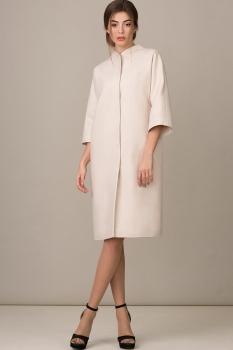 Пальто Rosheli 358-Б молочный