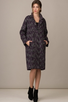 Пальто Rosheli 363-Б бордо