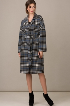 Пальто Rosheli 366 серый
