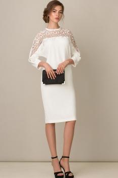 Платье Rosheli 421 белый