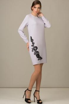 Платье Rosheli 431 светлые тона